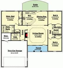 split floor house plans floor plan craftsman house plans with split trends ranch bedroom