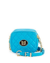 light blue crossbody purse love moschino napa quilted faux leather crossbody bag light blue