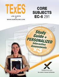 texes core subjects ec 6 291 book and online sharon wynne