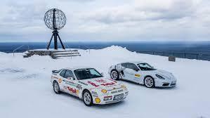 porsche 944 rally arctic run