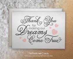 To My Wife On Our Wedding Day Card Thank You Note To Parents Parents Mom And Dad Wedding Thank You