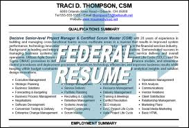 Federal Resume Writer Traci Thompson Professional Resume Writer Executive Resume