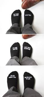 sayings for and groom looking for the gift for the groom these groom socks with