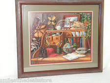 home interiors deer picture j gibson prints ebay