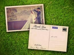 wedding thank you postcards thank you cards thank you wedding cards a2zweddingcards