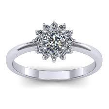inel diamant inel logodna diamant din aur alb 14k 18k a l34 ro 4 00 a di