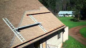 how to apply roofing to a steep roof youtube
