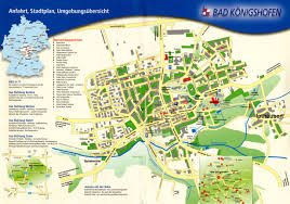 Wurzburg Germany Map by Bad Konigshofen Toursit Map Bad Konigshofen Germany U2022 Mappery