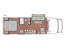 Type B Motorhome Floor Plans New Gulf Stream Rv Bt Cruiser 5270 Motor Home Class B For Sale