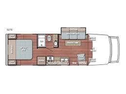 class b rv floor plans new gulf stream rv bt cruiser 5270 motor home class b for sale