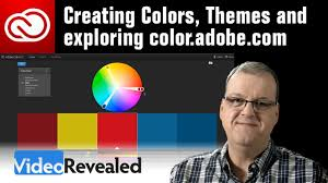creating colors themes and exploring color adobe com youtube