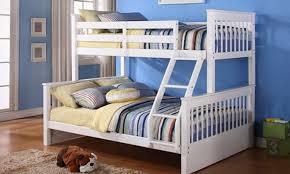 TripleSleeper Bunk Bed Groupon Goods - Three sleeper bunk bed
