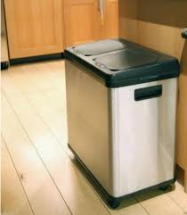 Kitchen Trash Can Ideas Stainless Steel Kitchen Garbage Can Gallery Image And Wallpaper