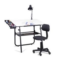 Studio Rta Drafting Table Studio Designs Black Zenith Drafting And Hobby Craft Table By