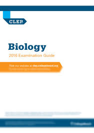 clep exam guide biology pdf biology 1010k with clep exam course