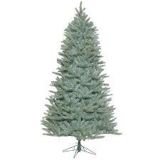 vickerman 9 colorado blue spruce slim artificial tree