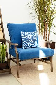 Mathis Brothers Patio Furniture by Ashley Partanna Blue Lounge Chair Mathis Brothers Furniture