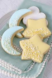 baby shower cookies and moon decorated cookies glorious treats