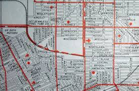 Phoenix Road Map by Old Maps American Cities In Decades Past Warning Large Images