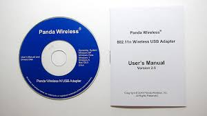 panda 300mbps wireless n usb adapter with high gain antenna