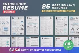 Vintage Resume Template Vintage Resume Template Resume Templates On Thehungryjpeg Com 1499