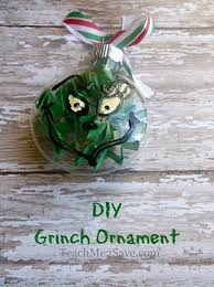diy grinch ornament funtastic