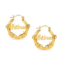 name earrings personalized earrings create your own zales