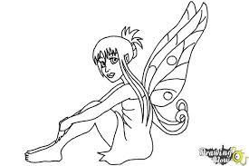 how to draw a fairy ver 2 drawingnow