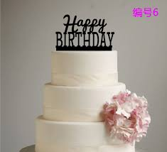 letter cake topper new design letter happy birthday acrylic birthday cake topper