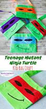 tmnt kid bag craft busy moms helper