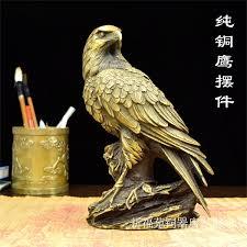 copper do the antique brass ornaments eagle material in black