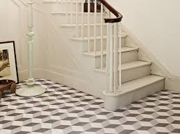 geometric hallway british ceramic tile