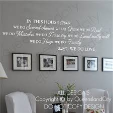 Compare Prices On In This House We Do Love Quote Wall Decal - Family room wall decals