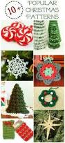 Free Christmas Decorations 30 Cute Free Crochet Christmas Ornaments Patterns To Decorate