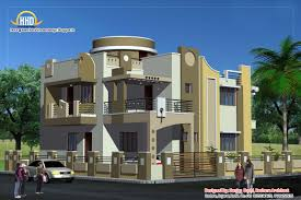indian home plan duplex house plan elevation indian home decor house plans 56007