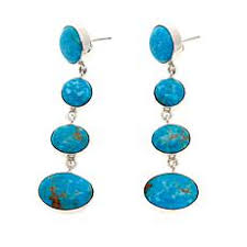 blue earrings turquoise earrings hsn