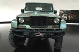 chief jeep jeep crew chief 715 concept front view motor trend