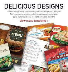 food menu u2013 graphic design ideas u0026 inspiration stocklayouts blog