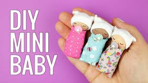 How Big Is A Mini Crib by Diy Miniature Baby Diy Miniature Doll Baby Pacifier Diy