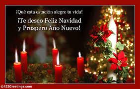 feliz navidad christmas card feliz navidad y prospero año nuevo free ecards 123