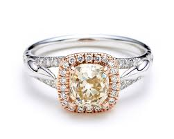 color diamond rings images 30 diamond engagement rings so sparkly you 39 ll need sunglasses jpg