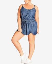 Trendy Plus Size Jumpsuits Rompers Trendy Plus Size Clothing Macy U0027s
