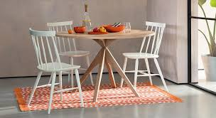 kitchen table and chairs for small spaces the best space saving dining tables for small rooms habitat blog