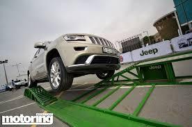 jeep dubai jeep roadshow at dubai festival citymotoring middle east car news
