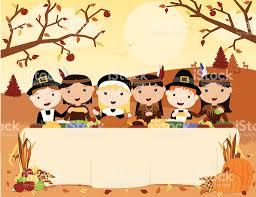 pilgrims thanksgiving feast thanksgiving meal scene stock vector art 167588103 istock