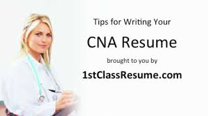 Best Nursing Resume Writers by Cna Resume Writing Tips Youtube