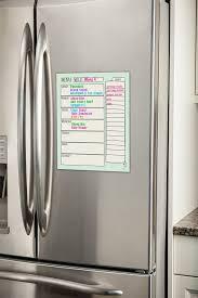 standard kitchen cabinet sizes magnet erase menu fridge magnet with markers 2 colors