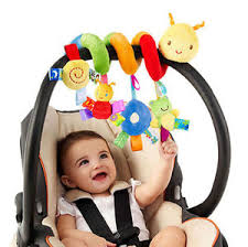 kid mobile crib music toy baby crib cot pram ringing bed bell