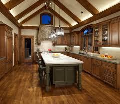 raised ranch kitchen with nook pendant lighting niche