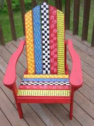 Ideas For Painting Garden Furniture by 394 Best Painting Whimsical Furniture Images On Pinterest